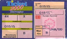 Ticket 2000 Abo